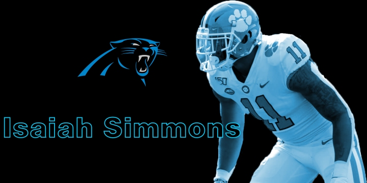 isaiah simmons panthers